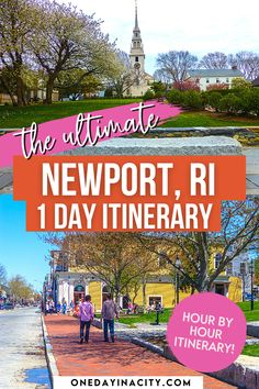 Maximize your time in Newport, Rhode Island with this One Day in Newport Itinerary that is broken down hour by hour and includes the things to do in Newport that are must-sees! | Newport Travel Guide | Newport Mansions | Rhode Island Travel | Newport RI Bachelorette Party | Newport Weekend Getaway | Newport Vacation | Newport RI with Kids | Newport on a Budget | Newport Harbor | Rhode Island Bucket List | Rhode Island Things to Do | Food | Newport Cliffwalk | Eat | Hotels | Shop… Usa Places To Visit, Visit Usa, Places To See, Newport Harbor, Newport Rhode Island, Usa Travel Guide, Travel Usa, United States Travel, Weekend Getaways
