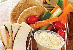 The Packaged Foods Dietitians Pick // Starbucks Chicken and Hummus Bistro Box c Starbucks