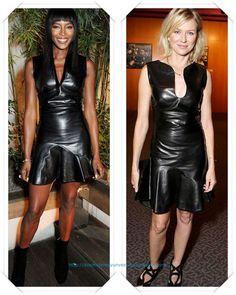 Un vestido de Alexander McQueen lo llevo Naomi Campbell a una fiesta; y otra Naomi en esta caso Naomi Watts a la premiere de Ray Donovan