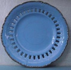 Georgian English Staffordshire Stoneware Plate Ridgway? Pierced #2 in Pottery, Porcelain & Glass, Date-Lined Ceramics, Pre-c.1840 | eBay