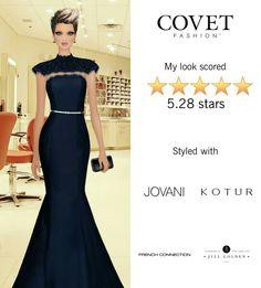 Fashion show for Brazilian designer, Covet game