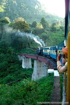 Three historic railways comprise a World Heritage site recognizing their importance in trade and technological development. Still in use today, the Darjeeling Himalayan Railway, Nilgiri Mountain Railway, and Kalka Shimla Railway were all begun or complete Shimla, Amazing India, Amazing Pics, Awesome, Places Around The World, Travel Around The World, Nepal, Places To Travel, Places To See