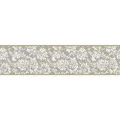 York Wallcoverings 6 in. Damask Border