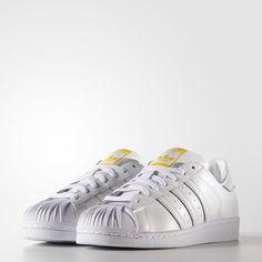 Chaussure Zaha Hadid Superstar Supershell - blanc adidas   adidas France