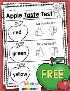 Preschool Apple Theme, Preschool Classroom, Preschool Apples, September Preschool Themes, Apple Theme Classroom, Preschool Lessons, Preschool Learning, Science Lessons, Teaching