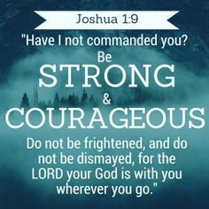 How to be strong when life wears you down Be Strong And Courageous, You Are Strong, Wear You Down, How To Wear, Joshua 1 9, Can You Be, Lord, Faith, Religion