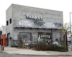 banksy's better out than in street art - part four