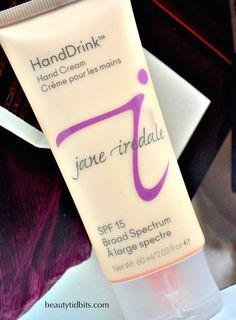 jane iredale HandDrink SPF 15 hand cream