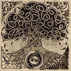 El Crann Bethadh (Celtic Tree of Life) - Google Image Search