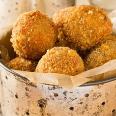 Talk about a football favorite - Boudin Balls with Creole Mustard Dipping Sauce