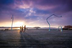 """Got drunk, fell down"" Halifax waterfront. Art installation by Chris Hanson and Hendrika Sonnenberg #halifax #novascotia #visitnovascotia #art #fineart #explorenovascotia"