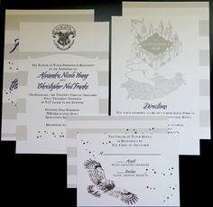 Harry Potter Wedding Invitation Package