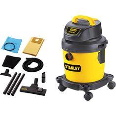 $40 - Stanley 2.5 gal Portable Wet/Dry Vac Shop Vacuum