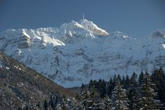 Suisse alps..Säntis..my house-mountain..see it every day from many different ankles