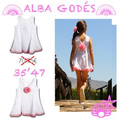 http://www.nenecanela.com/Alba-Godes_es_7_57_0_6_18.html #modainfantil #modabebe #modaparaniños #ropabebe #ropainfantil #vestiditos