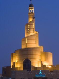 Spiral Mosque of the Kassem Darwish Fakhroo Islamic Centre, Doha, Qatar