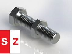 This is an intermediate Solidworks tutorial teaching users how to create a nut…
