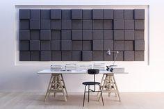 baux tiles BAUX, 3D pixel Acustic Panels, Sound Absorbing, Office Interior Design, Office Interiors, Bass Trap, 3d Pixel, Room Acoustics, Isolation, Sound Proofing