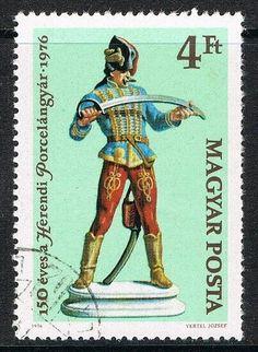 [CF7451] Hungría 1976, CL Aniv. fábrica de porcelana de Herend (CTO) Stamps, Comic Books, Baseball Cards, Comics, Ebay, Art, Porcelain Ceramics, Seals, Art Background
