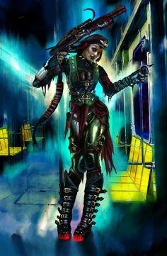 cyberpunk, cybergoth