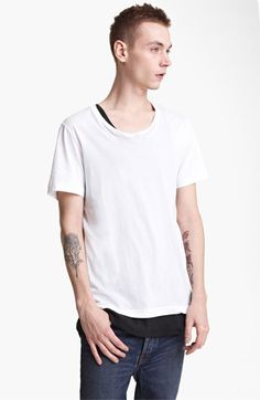BLK DNM 'T-Shirt 3' Pima Cotton T-Shirt available at #Nordstrom