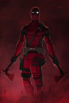 Deadpool by Yvan Quinet