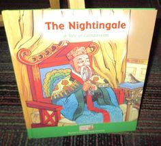 THE NIGHTINGALE, A TALE OF COMPASSION HARDCOVER BOOK, FAMOUS FABLES, GUC