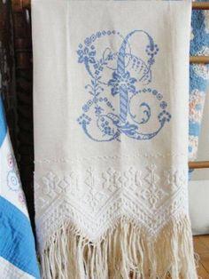 Fabulous antique towel