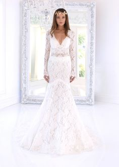 40 Best Winnie Couture Wedding Dresses With Sleeves Images