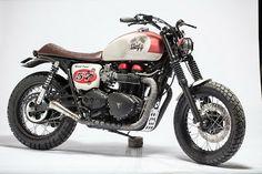 Vintage Racers: Gal motorcycle via Bonniefication