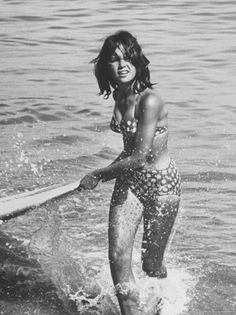 My fantasy me, circa 1969.    In reality: I have never looked this athletic. I cannot surf.  I can barely swim.