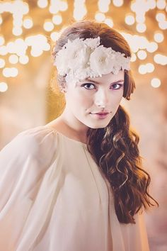 The Buchanan Couture Bridal Headpiece by Gadegaard Design, Photocredit: www.tinaliv.com