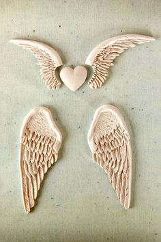 Prima - Resin Collection - Ingvild Bolme - Resin Embellishments - Angel Wings at Scrapbook.com $4.99