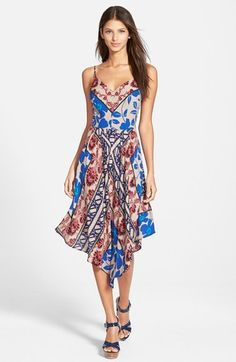 Plenty by Tracy Reese Print Slipdress