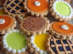 SugarBliss Cookies: Thanksgiving