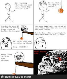 Lollipop fishing funny rage comic | Funny weird viral pics