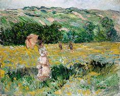 Claude Monet - Limetz Meadow