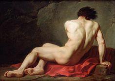 Patrocles by Jacques Louis David