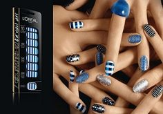 FREE L'Oreal Paris 3D Nail Art Stickers {Product Tests}