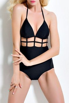 Sports & Entertainment Expressive 1 Piece Swimsuit Summer Bikini Padded Sexy Push Up Trikini Woman Swimsuits High Waist Belt Big Backless Girl Spandex Solid To Assure Years Of Trouble-Free Service