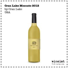 Moscato from US. Taste it via wineist.com
