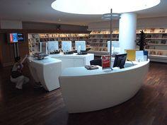 Amsterdam Public Library - service desk