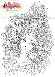 Its Like A Coloring Sheet Only More Beautiful 3