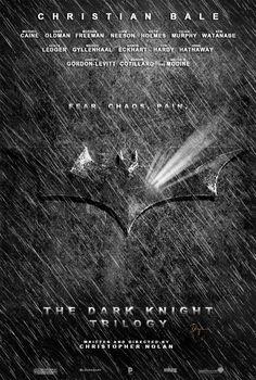 The Dark Knight Trilogy Poster by ~sahinduezguen on deviantART The Dark Knight Trilogy, The Dark Knight Rises, Batman The Dark Knight, Batman Dark, Crusader 2, Batman Begins, Christopher Nolan, Christian Bale, Detective Comics