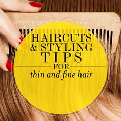 Best Haircuts For Thin and Fine Hair, Hairstyling Tips | Style.com/Arabia