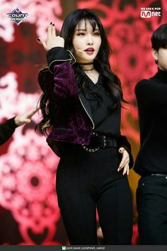 Kpop Girl Groups, Korean Girl Groups, Kpop Girls, Stage Outfits, Kpop Outfits, Korean Celebrities, Celebs, Kim Chanmi, Kim Chungha