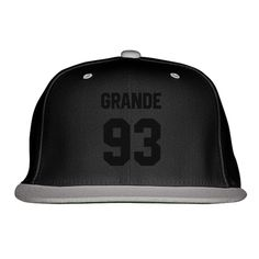 Ariana Grande 93 Embroidered Snapback Hat