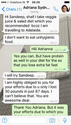 Life is blessed when people from all around the world connect with you & ask for your advice. It makes me proud when they become serious about their fitness. Adriana Sydney from Australia lost approx 30 pounds in just 3 months.   To Know more about our Different Diet Chart Packages: Call or Whatsapp us at +919953329177.