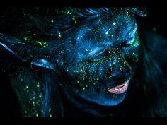 Fairy Makeup Tutorial UV Blacklight Fantasy black light photography inspiration ideas - YouTube