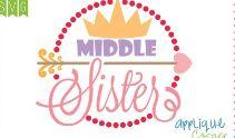 Middle Sister Applique Corner